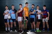 7 December 2016; In attendance at the Sigerson Independent.ie Higher Education GAA Senior Championship Launch & Draw are, from left, Ryan McHugh, from Ulster University, Eamonn Brannigan, from GMIT, Damien Comer, from NUIG, Steven O'Brien, from Dublin City University Dóchas Éireann, Jack McCaffrey, from University College Dublin, Darragh McConnon, from IT Sligo, and Cian O'Dea, from University of Limerick, at Croke Park in Dublin. Photo by Seb Daly/Sportsfile