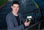 9 December 2016; Diarmuid Connolly of Dublin  during the Leinster Championship 2016 Players' of the Year Medal Presentation at Croke Park in Dublin.  Photo by Sam Barnes/Sportsfile