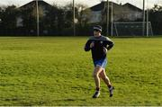 10 December 2016; Injured Connacht player Joe Canning trains on his own ahead of the GAA Interprovincial Hurling Championship Semi-Final between Connacht and Leinster at McDonagh Park in Co. Tipperary. Photo by Piaras Ó Mídheach/Sportsfile
