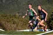 11 December 2016; Jack O'Leary, left, on his way to finishing in 6th place in the Men's U20 race during the 2016 Spar European Cross Country Championships in Chia, Italy. Photo by Eóin Noonan/Sportsfile