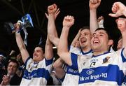 11 December 2016; St Vincent's captain Diarmuid Connolly lifts the cup as he celebrates with teammates at the end of the AIB GAA Football Senior Club Championship Final match between Rhode and St Vincent's at O'Moore Park in Portlaoise, Co. Laois. Photo by David Maher/Sportsfile