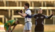 11 December 2016; Diarmuid Connolly of St Vincent's celebrates on the final whistle at the end of the AIB GAA Football Senior Club Championship Final match between Rhode and St Vincent's at O'Moore Park in Portlaoise, Co. Laois. Photo by David Maher/Sportsfile