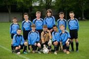 7 May 2011; The Belvedere F.C. team. Back row, left to right; Josh Roche, Calvin Gilchrist, Jack Wolfe, Alex Soroka, Sean Dowling and Dylan Kelch. Front row, l to r; James Clarke, Ethan Keogh, Shane O'Rourke, Sean Brennan and Brandon Hanney. Phoenix F.C.. U9 A Saturday - 7 a-side,  Belvedere F.C. v Phoenix F.C., Fairview Park, Fairview, Dublin. Picture credit: Ray McManus / SPORTSFILE