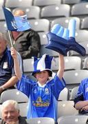 1 May 2011; Cavan supporter Aine Harkin, from Dublin, at the match. Cadbury GAA All-Ireland Football U21 Championship Final, Cavan v Galway, Croke Park, Dublin. Picture credit: Oliver McVeigh / SPORTSFILE