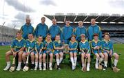 13 May 2011; Centra's GAA Hurling Ambassadors for 2011, from left, Ger Farragher, Galway, Henry Shefflin, Kilkenny, John Mullane, Waterford, Patrick Horgan, Cork, David O'Callaghan, Dublin, and Eoin Kelly, Tipperary, with hurling stars of the future, from left, George Bodor, Conor Gibson, Harry Nolan, Matthew Nolan, Cian Flynn, Charlie McHugh, Sean McHugh, Alex Barry, and Karl Hamilton, at the launch of  Centra's exciting programme of activity for the GAA Hurling All-Ireland Senior Championship. Centra, sponsor of the GAA Hurling All Ireland Championship have lined up some of the greatest stars of the game to take the hurling message out into the community by organising the Centra Hurling Skills Tour which will run from Saturday 4th June to Saturday 9th July. The tour will feature Centra's Hurling Ambassadors and will take place in Tipperary, Offaly, Kilkenny, Cork, Dublin, and Galway. Each Centra Skills Session will feature two of the hurling Ambassadors, giving Ireland's future hurlers the chance to train with the best in the game and the good news is that they are free of charge – registration will take place in Centra stores in the relevant counties. For more information log onto www.centra.ie or Facebook.com/centra. Croke Park, Dublin. Picture credit: Brian Lawless / SPORTSFILE