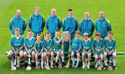 13 May 2011; Centra's GAA Hurling Ambassadors for 2011, from left, Ger Farragher, Galway, Henry Shefflin, Kilkenny, John Mullane, Waterford, Patrick Horgan, Cork, David O'Callaghan, Dublin, and Eoin Kelly, Tipperary, with hurling stars of the future, from left, George Bodor, Conor Gibson, Harry Nolan, Matthew Nolan, Cian Flynn, Charlie McHugh, Sean McHugh, Alex Barry, and Karl Hamilton, at the launch of Centra's exciting programme of activity for the GAA Hurling All-Ireland Senior Championship. Centra, sponsor of the GAA Hurling All Ireland Championship have lined up some of the greatest stars of the game to take the hurling message out into the community by organising the Centra Hurling Skills Tour which will run from Saturday 4th June to Saturday 9th July. The tour will feature Centra's Hurling Ambassadors and will take place in Tipperary, Offaly, Kilkenny, Cork, Dublin, and Galway. Each Centra Skills Session will feature two of the hurling Ambassadors, giving Ireland's future hurlers the chance to train with the best in the game and the good news is that they are free of charge – registration will take place in Centra stores in the relevant counties. For more information log onto www.centra.ie or Facebook.com/centra. Croke Park, Dublin. Picture credit: Matt Browne / SPORTSFILE