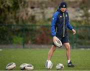 19 December 2016; Leinster backs coach Girvan Dempsey during squad training at UCD in Belfield, Dublin. Photo by Seb Daly/Sportsfile