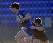 21 December 2016; Conor O'Brien of the Leinster Development XV is tackled by Calvin Nash of the Ireland Under-20 XV during the match between Leinster Development XV and Ireland Under-20 XV at Donnybrook Stadium in Dublin. Photo by Matt Browne/Sportsfile