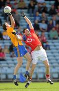 22 May 2011; Barry Duggan, Clare, in action against Donncha O'Connor, Cork. Munster GAA Football Senior Championship Quarter-Final, Cork v Clare, Pairc Ui Chaoimh, Cork. Picture credit: Pat Murphy / SPORTSFILE