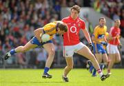 22 May 2011; Niall Browne, Clare, in action against Aidan Walsh, Cork. Munster GAA Football Senior Championship Quarter-Final, Cork v Clare, Pairc Ui Chaoimh, Cork. Picture credit: Pat Murphy / SPORTSFILE