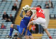 22 May 2011; Joe Hayes, Clare, in action against Donncha O'Connor, Cork. Munster GAA Football Senior Championship Quarter-Final, Cork v Clare, Pairc Ui Chaoimh, Cork. Picture credit: Pat Murphy / SPORTSFILE