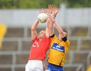 22 May 2011; Alan O'Connor, Cork, in action against Darren O'Neill, Clare. Munster GAA Football Senior Championship Quarter-Final, Cork v Clare, Pairc Ui Chaoimh, Cork. Picture credit: Pat Murphy / SPORTSFILE