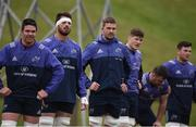 29 December 2016; Munster players including Billy Holland, Jean Kleyn, Dave Foley, Jack O'Donoghue, Dave Kilcoyne, and Conor Oliver during squad training at the University of Limerick in Limerick. Photo by Diarmuid Greene/Sportsfile