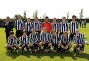 8 May 2011; The St Joseph's Boys FC squad, back row, left to right, Ger Sullivan, Paul Devereaux, Drew Armstrong, Bryan O'Connell, Timmy O'Driscoll, Jonathan Byrne, Philip Cullen and Stefan Boyce. Front row, from left to right, Conor Mullaly, Josh O'Toole, Nathan matthews, Ross Davis, Cris Fenner, Collm Begley and Aymen Ben Mohamed. Dublin and District Schoollboys League Finals,  Paul McGrath Cup Final, Belvedere FC v St Joseph's Boys FC,  A.U.L Complex, Clonshaugh, Dublin. Picture credit: Ray McManus / SPORTSFILE