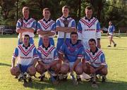 27 January 2002; Tipperary hurlers, back row from l -r; Eddie Enright, Mark O'Leary, Philip Maher,  Brendan Cummins; Front Row from l -r;  Eoin Kelly, Eamonn Corcoran, John Carroll and Thomas Dunne pictured as part of the 2001 Eircell Vodafone GAA All Stars, Argentina Grounds, Hurlington, Buenos Aires, Argentina. Hurling. Picture credit; Ray McManus / SPORTSFILE