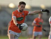 18 December 2016; Oisin MacIomhair of Armagh during the O'Fiaich Cup Final game between Armagh and Tyrone at Oliver Plunkett Park in Crossmaglen, Co. Armagh. Photo by Oliver McVeigh/Sportsfile
