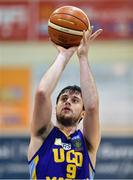 7 January 2017; Daniel James of UCD Marian during the Hula Hoops Men's National Cup semi-final match between Pyrobel Killester and UCD Marian at the Neptune Stadium in Cork. Photo by Brendan Moran/Sportsfile