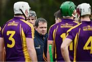 8 January 2017; Wexford manager Davy Fitzgerald ahead of the Bord na Mona Walsh Cup Group 3 Round 1 match between Wexford and UCD at Páirc Uí Suíochan in Gorey, Co. Wexford. Photo by Ramsey Cardy/Sportsfile