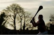 8 January 2017; Barry Carton of Wexford in action during the Bord na Mona Walsh Cup Group 3 Round 1 match between Wexford and UCD at Páirc Uí Suíochan in Gorey, Co. Wexford. Photo by Ramsey Cardy/Sportsfile