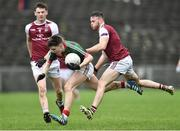 8 January 2017; Fergal Boland of Mayo in action against Enda Boland of NUIG during the Connacht FBD League Section A Round 1 match between Mayo and NUI Galway at Elvery's MacHale Park in Castlebar, Co. Mayo. Photo by David Maher/Sportsfile