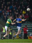 8 January 2017; Diarmuid Foley of Tipperary in action against Jason Foley of Kerry during the McGrath Cup Round 1 match between Kerry and Tipperary at Austin Stack Park in Tralee, Co. Kerry. Photo by Diarmuid Greene/Sportsfile