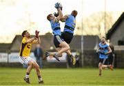 8 January 2017; Peter Healy, left, and Sean O'Dea of UCD in action during the Bord na Mona O'Byrne Cup Group 1 Round 1 match between Wexford and UCD at Páirc Uí Suíochan in Gorey, Co. Wexford.  Photo by Ramsey Cardy/Sportsfile