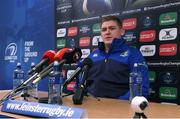 9 January 2017; Tadhg Furlong of Leinster during a press conference at UCD in Belfield, Dublin. Photo by Matt Browne/Sportsfile