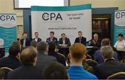 9 January 2017; A general view during the official launch of the Club Players Association at Ballyboden St Enda's GAA in Firhouse Rd, Ballyroan, Dublin. The CPA are calling for all GAA Club members to register at www.gaaclubplayers.com to help 'Fix The Fixtures' Photo by Piaras Ó Mídheach/Sportsfile