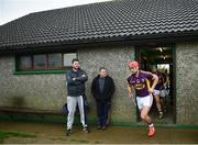 8 January 2017; Lee Chin of Wexford ahead of the Bord na Mona Walsh Cup Group 3 Round 1 match between Wexford and UCD at Páirc Uí Suíochan in Gorey, Co. Wexford. Photo by Ramsey Cardy/Sportsfile