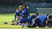 9 January 2017; Robbie Henshaw of Leinster during squad training at UCD in Belfield, Dublin. Photo by Matt Browne/Sportsfile