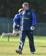 9 January 2017; Leinster head coach Leo Cullen during squad training at UCD in Belfield, Dublin. Photo by Matt Browne/Sportsfile
