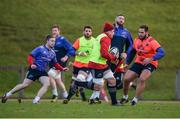 9 January 2017; CJ Stander of Munster in action against Thomas du Toit during squad training at University of Limerick in Limerick. Photo by Diarmuid Greene/Sportsfile