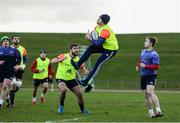 9 January 2017; Keith Earls of Munster in action during squad training at University of Limerick in Limerick. Photo by Diarmuid Greene/Sportsfile