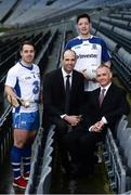 10 January 2017; In attendance at the GAA and GPA launch of the ESRI Research Project at Croke Park in Dublin are, from left, Waterford hurler Noel Connors, GPA President Dermot Earley, Monaghan footballer Conor McManus and ERSI Director Alan Barrett. Photo by Sam Barnes/Sportsfile