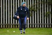 8 January 2017; Waterford kitman Tommy Byrne prior to the Co-Op Superstores Munster Senior Hurling League First Round match between Waterford and Limerick at Fraher Field in Dungarvan, Co. Waterford. Photo by Piaras Ó Mídheach/Sportsfile