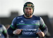 10 January 2017; John Muldoon of Connacht during squad training at the Sportsground in Galway. Photo by Seb Daly/Sportsfile