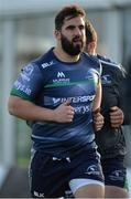 10 January 2017; Peter McCabe of Connacht during squad training at the Sportsground in Galway. Photo by Seb Daly/Sportsfile