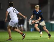 10 January 2017; Alec Dawson of Mount Temple during the Bank of Ireland Fr Godfrey Cup Round 1 match between Presentation College Bray and Mount Temple at Donnybrook Stadium in Donnybrook, Dublin. Photo by Cody Glenn/Sportsfile