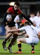 11 January 2017; James Reynolds of CBC Monkstown in action against Elliot Ryan of Presentation College Bray during the Bank of Ireland Vinnie Murray Cup Round 1 match between Presentation College Bray and CBC Monkstown Park at Donnybrook Stadium in Donnybrook, Dublin. Photo by Sam Barnes/Sportsfile