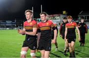 11 January 2017; CBC Monkstown players acknowledge their supporters following the Bank of Ireland Vinnie Murray Cup Round 1 match between Presentation College Bray and CBC Monkstown Park at Donnybrook Stadium in Donnybrook, Dublin. Photo by Sam Barnes/Sportsfile