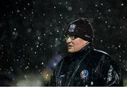 12 January 2017: NUI Galway manager Tony Ward during the Bord na Mona Walsh Cup Group 1 Round 2 match between Galway and NUI Galway at Duggan park, Ballinasloe in Co Galway. Photo by Seb Daly/Sportsfile