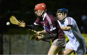 12 January 2017: Gearoid Loughnane of NUI Galway in action against Brian Flaherty of Galway during the Bord na Mona Walsh Cup Group 1 Round 2 match between Galway and NUI Galway at Duggan park, Ballinasloe in Co Galway. Photo by Seb Daly/Sportsfile