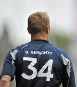 5 June 2011; Graham Geraghty, Meath, warms up on the sideline during the game. Leinster GAA Football Senior Championship Quarter-Final, Kildare v Meath, Croke Park, Dublin. Picture credit: Barry Cregg / SPORTSFILE