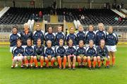 5 June 2011; The Armagh squad. Ulster Ladies Football Senior Championship, Armagh v Monaghan, Armagh v Monaghan, Healy Park, Omagh, Co. Tyrone. Picture credit: Oliver McVeigh / SPORTSFILE