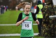 14 January 2017; Fionnuala McCormack of Ireland  after finishing fourth in the Senior Womens race at the Antrim International Cross Country at the Greenmount Campus, Stormont, Co. Antrim. Photo by Oliver McVeigh/Sportsfile