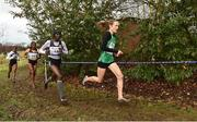 14 January 2017; Fionnuala McCormack, right, of Ireland leads, from left, Caroline Chepkoech Kipkirui of Kenya and Gotytom Gebreslase and Birtukan Adamu of Ethiopia during the Senior Womens race at the Antrim International Cross Country at the Greenmount Campus, Stormont, Co. Antrim. Photo by Oliver McVeigh/Sportsfile