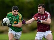 15 January 2017; Emlyn Mulligan of Leitrim in action against Johnny Duane of Galway during the Connacht FBD League Section B Round 2 match between Leitrim and Galway at Sean O'Heslin Park in Ballinamore, Co Leitrim. Photo by Seb Daly/Sportsfile