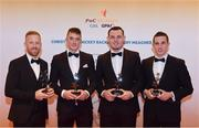 3 November 2017; Carlow hurlers from left, Richard Coady, James Doyle, John Michael Nolan and Alan Corcoran, after collecting their Christy Ring Champion 15 Award during the PwC All Stars 2017 at the Convention Centre in Dublin. Photo by Sam Barnes/Sportsfile