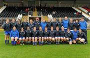 5 June 2011; The Monaghan squad. Ulster Ladies Football Senior Championship, Armagh v Monaghan, Armagh v Monaghan, Healy Park, Omagh, Co. Tyrone. Picture credit: Oliver McVeigh / SPORTSFILE