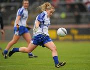 5 June 2011; Ciara McAnespie, Monaghan. Ulster Ladies Football Senior Championship, Armagh v Monaghan, Armagh v Monaghan, Healy Park, Omagh, Co. Tyrone. Picture credit: Oliver McVeigh / SPORTSFILE